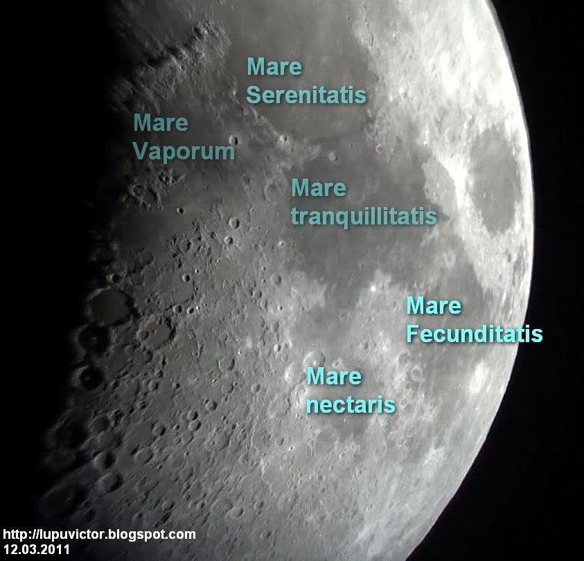 LUPU VICTOR ASTRONOMY: Lunar East seas Mare Fecunditatis.