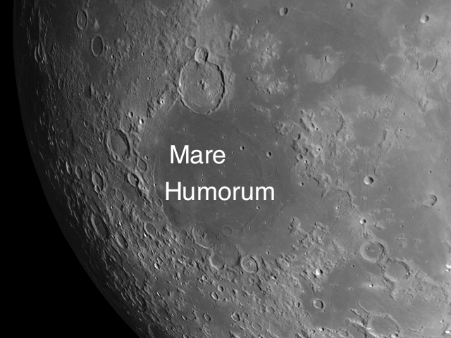 Mare Humorum: Three Generations of Crater Age.