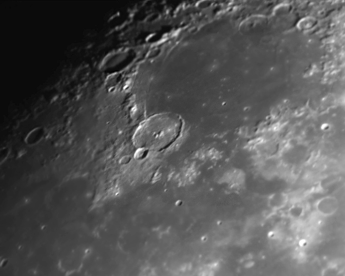 "See the Glory Mare Humorum (the ""sea of moisture"")."