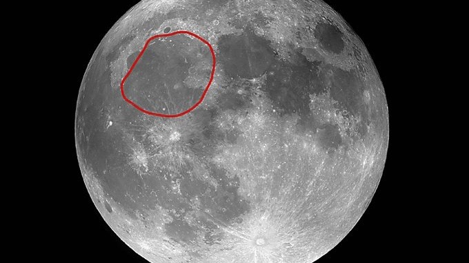Protoplanet blasted out Mare Imbrium.