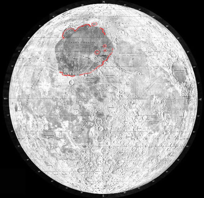 The Moon's Mare Imbrium Was Hit By Protoplanetary Size Impactor.
