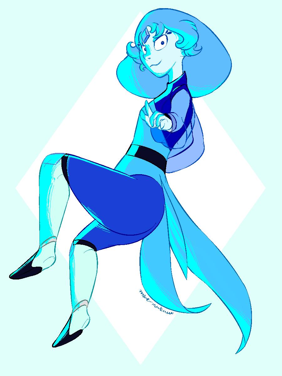 Blue Zircon.