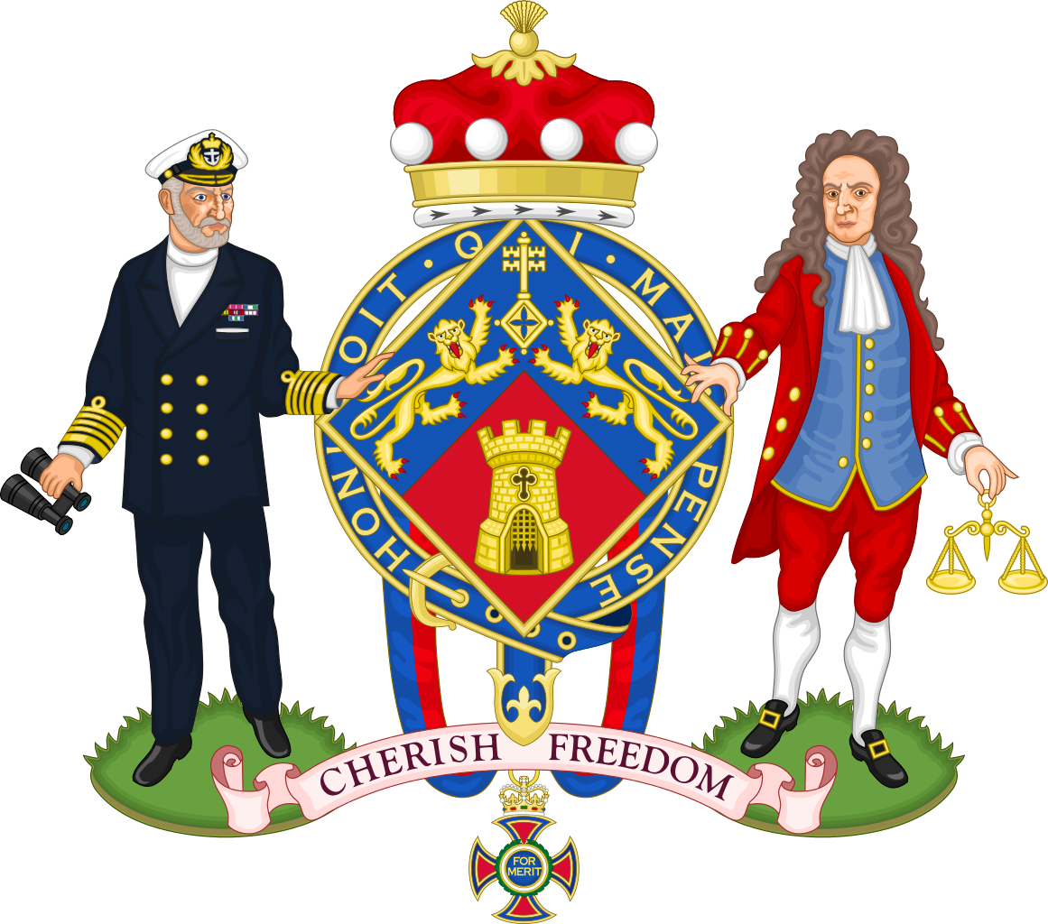 File:Coat of Arms of Margaret Thatcher, The Baroness Thatcher.