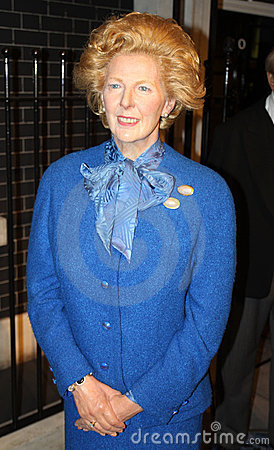 Margaret Thatcher Editorial Photography.