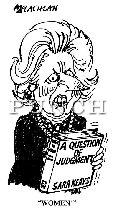 Margaret Thatcher Cartoons Punch.