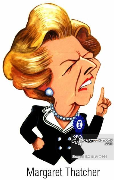 Thatcher Cartoons and Comics.