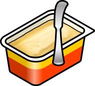Margarine Clipart.