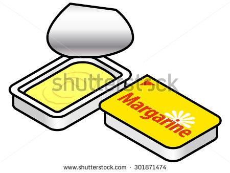 Margarine Stock Photos, Royalty.
