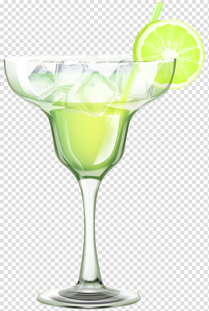 Martini glass illustration, Cocktail Margarita Juice Martini.