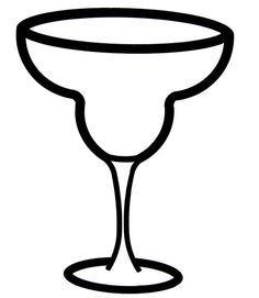 Margarita Glass Clipart 6.
