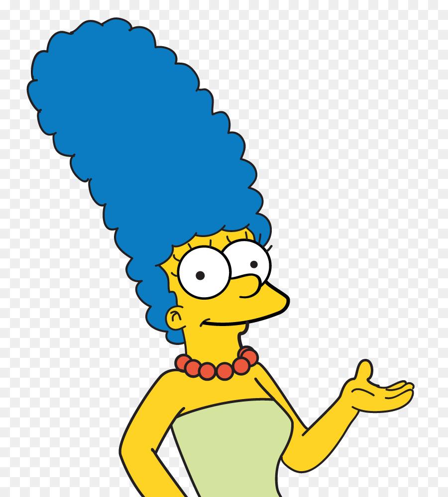 Marge Simpson Beak png download.