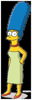 Marge Simpson.