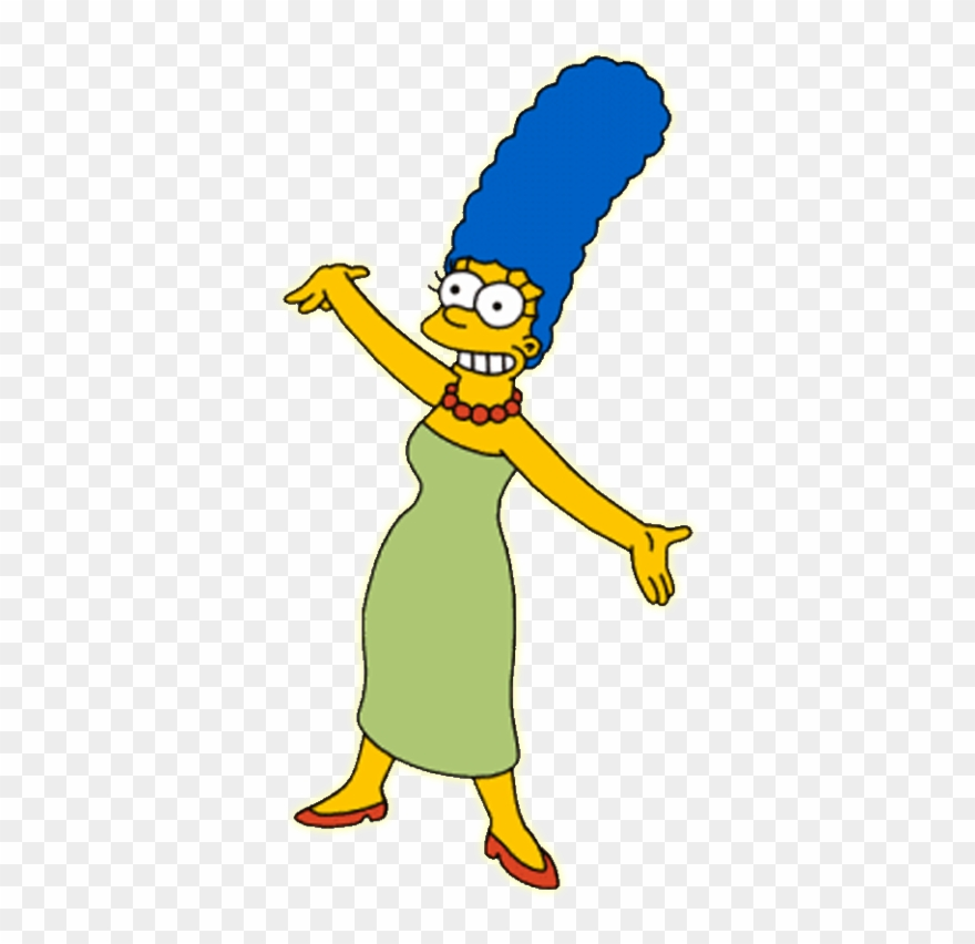 The Simpsons Clipart Marge Simpson.
