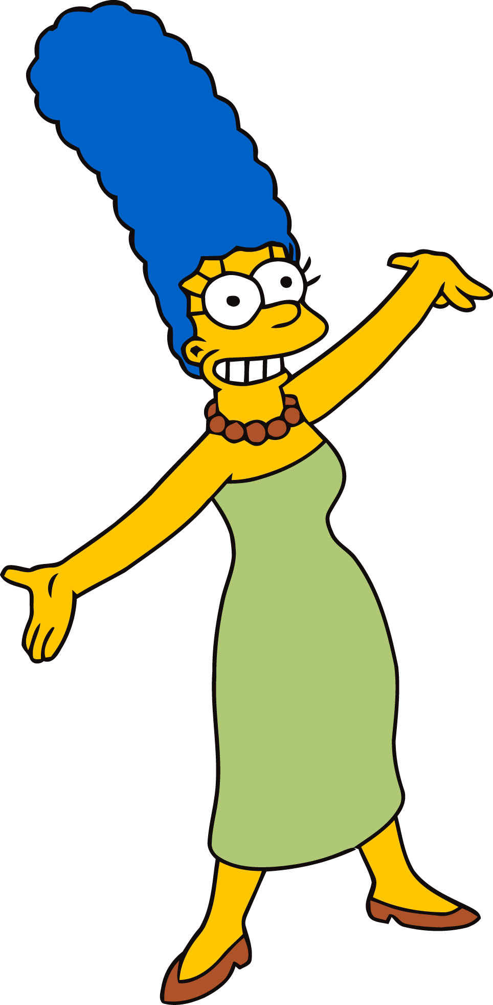 Marge Simpson PNG.