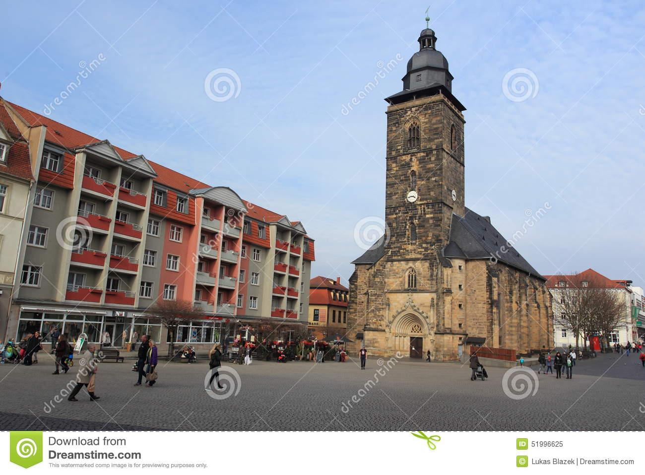 St. Margarethen Church In Gotha Editorial Image.