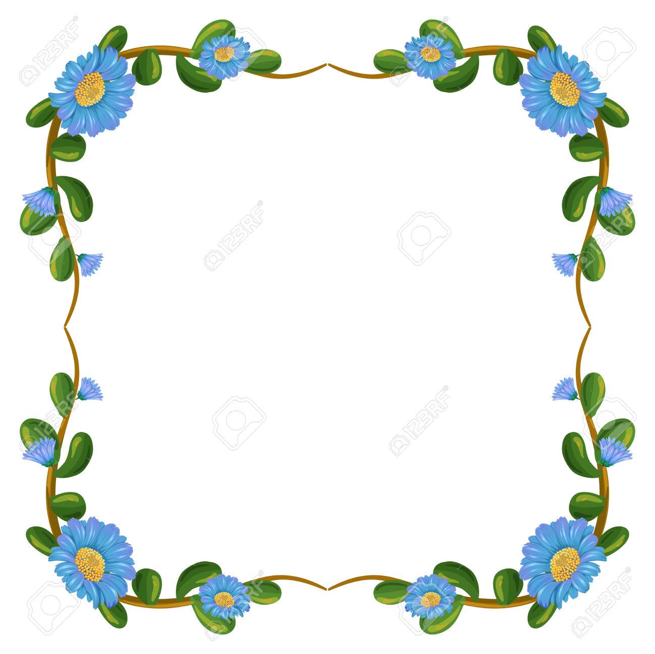 Blue flower border for word flowers ideas the 25 best border design ideas on pinterest vine borders list of synonyms and antonyms of the word margin design purple flowers border izmirmasajfo Gallery