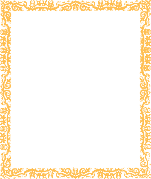 Gold Cool Border Margin Clip Art At Clker Com Vector Clip Art.