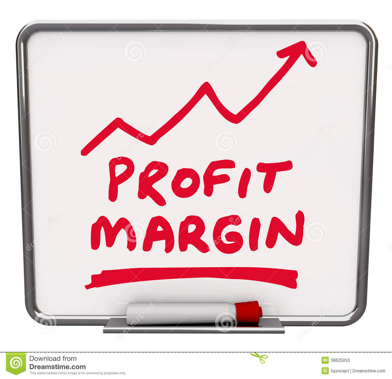 Gross Profit Margin Stock Illustrations.