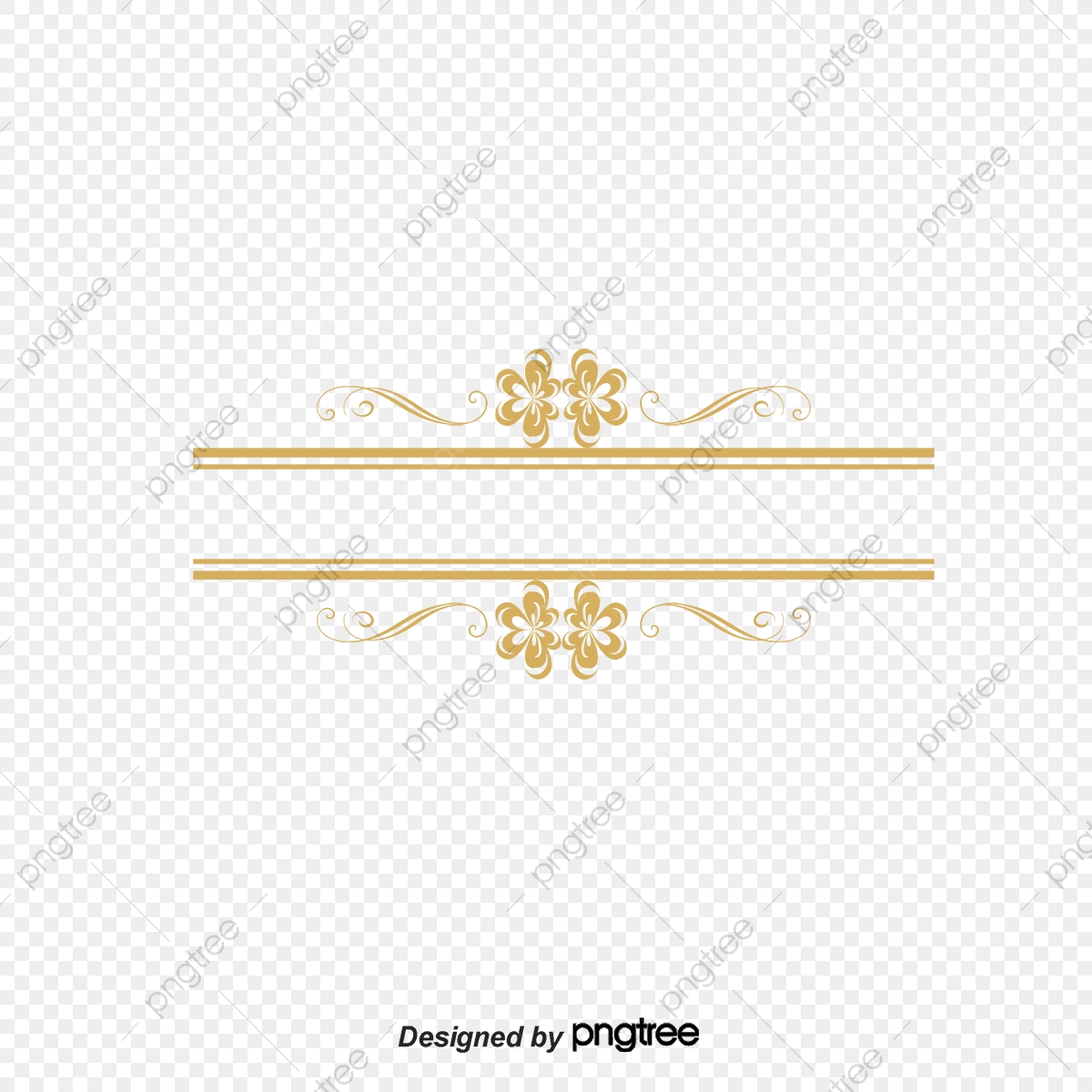 Gold Margin Phnom Penh, Vector, Pattern, Gold PNG and Vector.