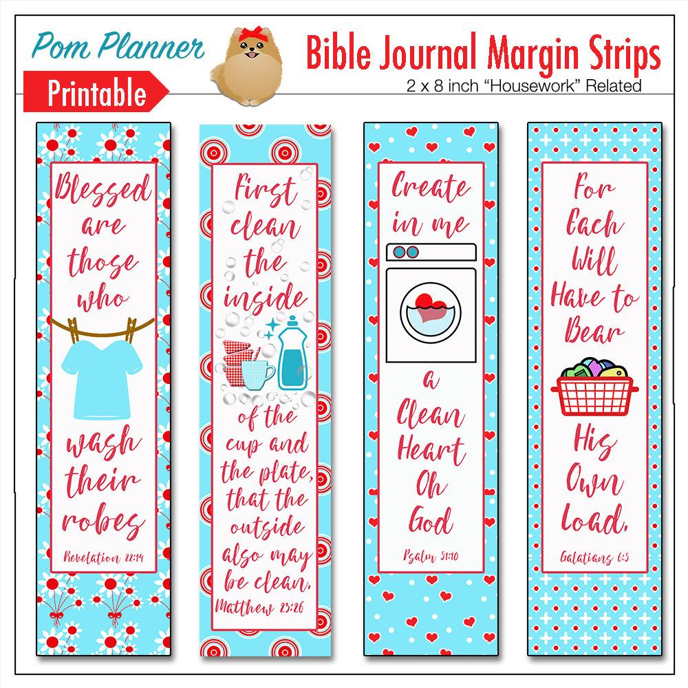 Bible margin art.