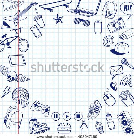 Teenager Having Fun Stock Vectors, Images & Vector Art.