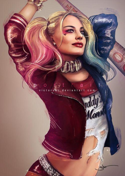 Margot Robbie Harley Quinn Clipart.