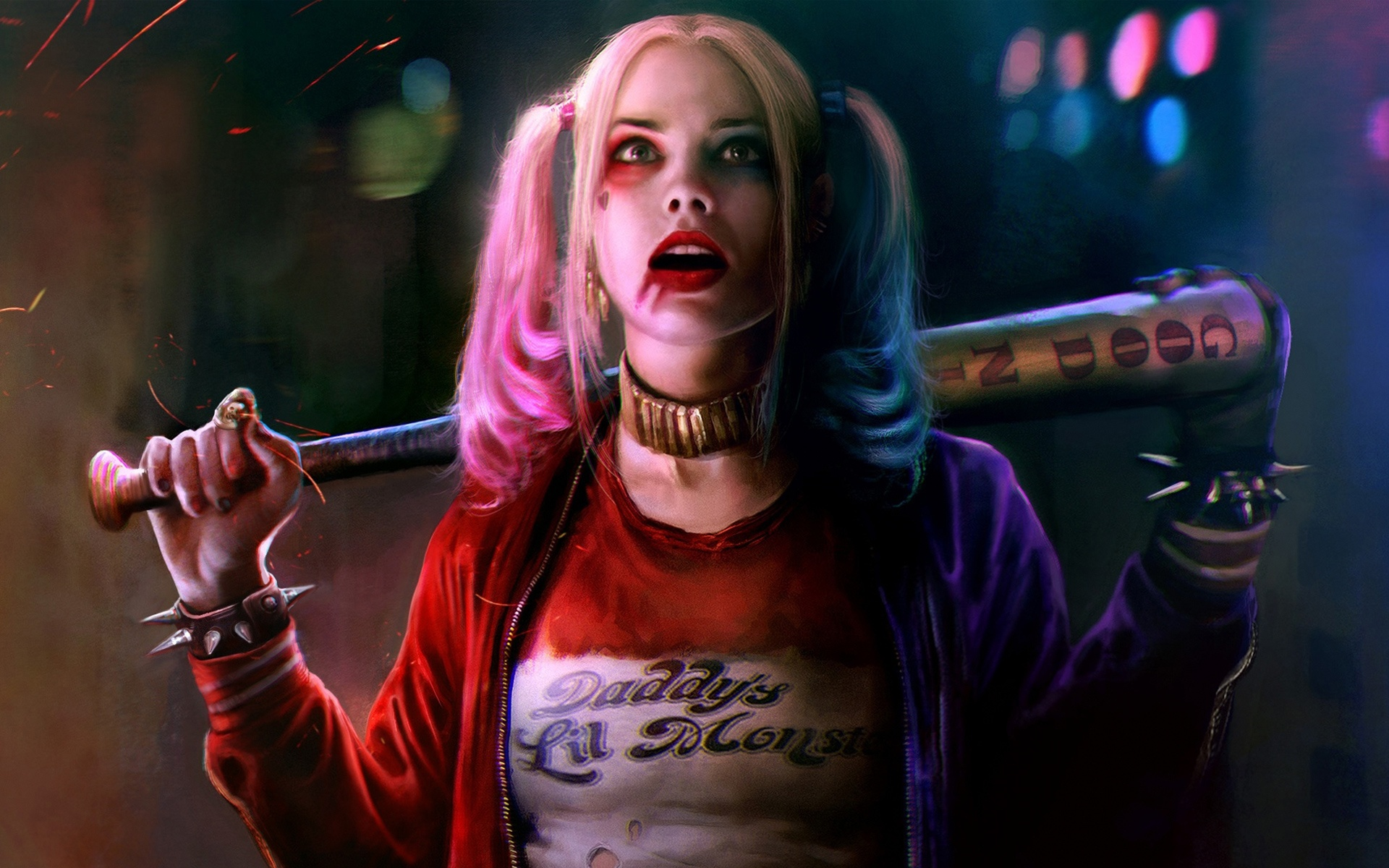 Harley Quinn Suicide Squad Cosplay: Margot Robbie Harley Quinn.