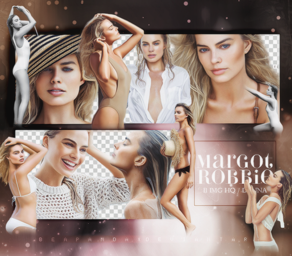 Margot Robbie Hd Clipart.