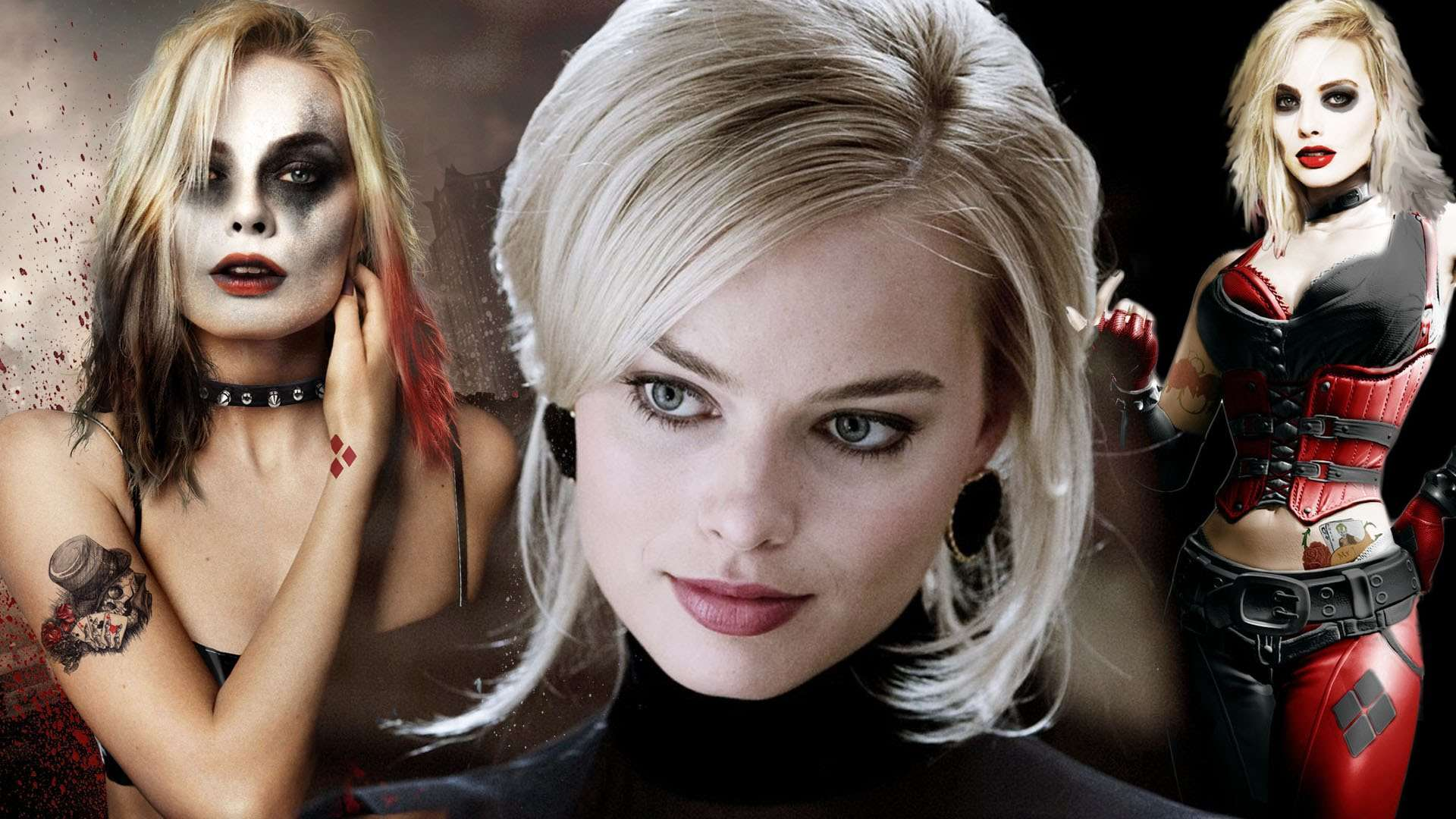 Harley Quinn Desktop Clipart.