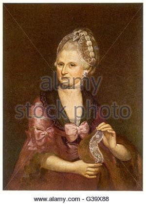 Anna Maria Mozart Stock Photo, Royalty Free Image: 132591806.