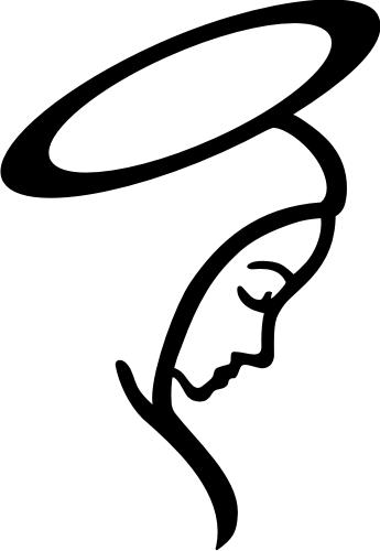 Silueta Virgen Maria Png 1 » PNG Image #219967.