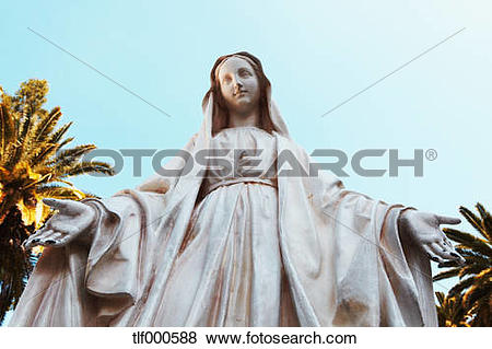 Pictures of Israel, Nazareth, Statue of maria magdalena tlf000588.