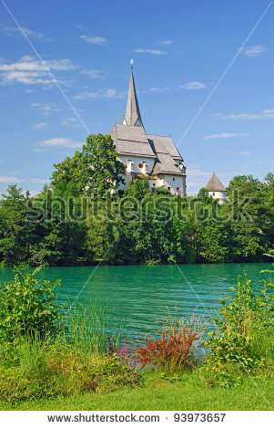 Woerthersee Austria Stock Photos, Royalty.