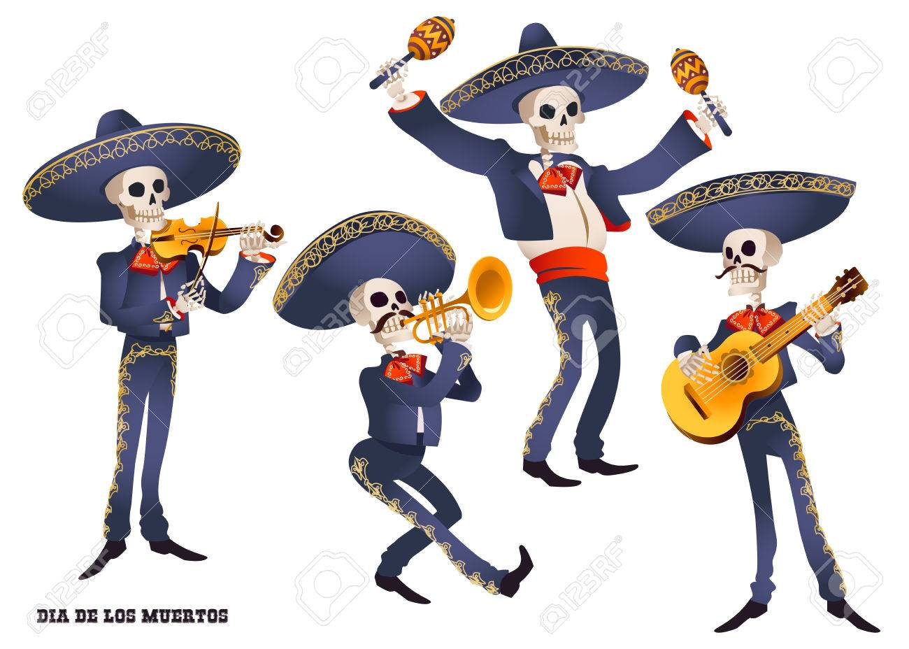 2,500 Mariachi Cliparts, Stock Vector And Royalty Free.