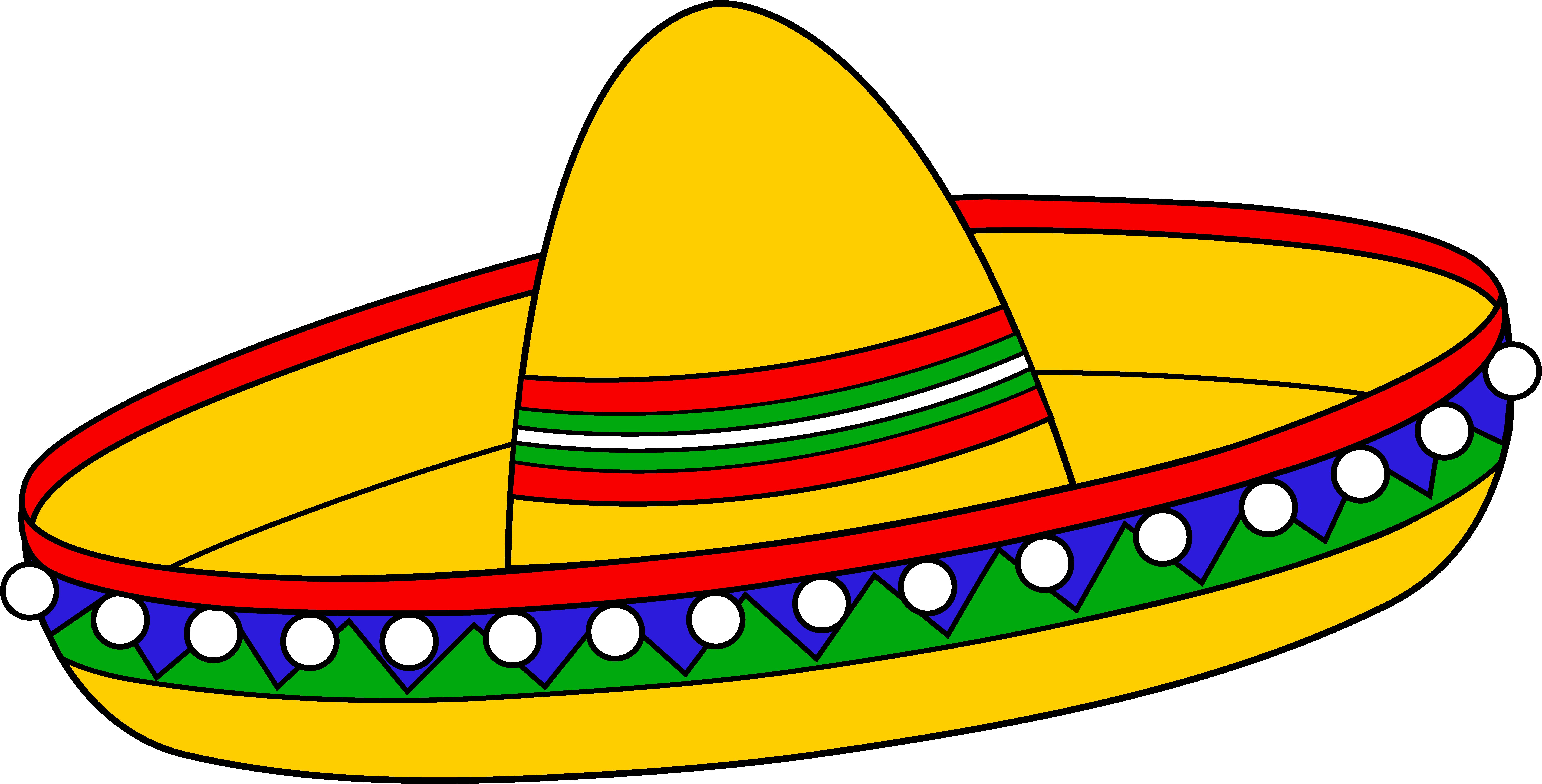 Mariachi Hat Clipart.