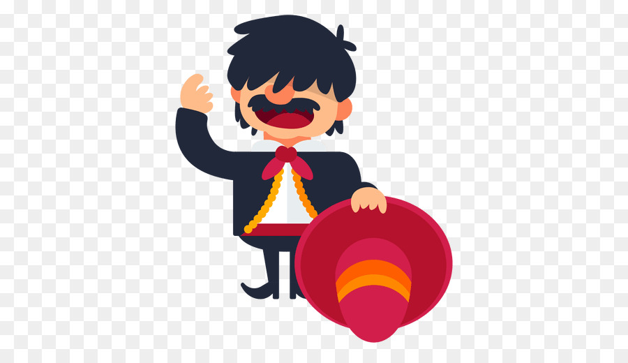 Mariachi Smile png download.