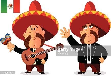 Mexican Mariachi Band premium clipart.