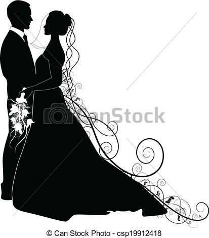 WEDDING COUPLE.