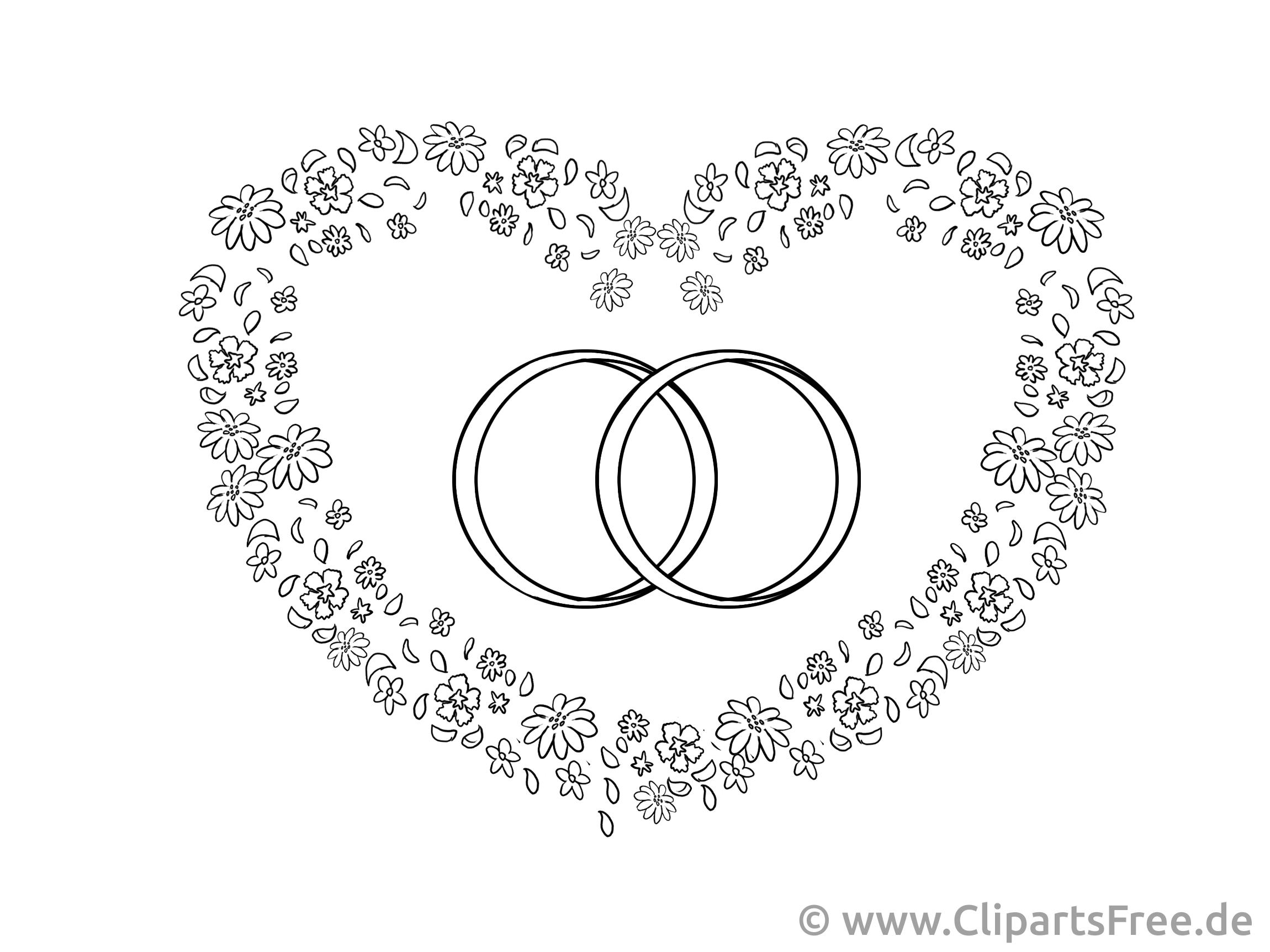 Clipart mariage coeur 1 » Clipart Portal.