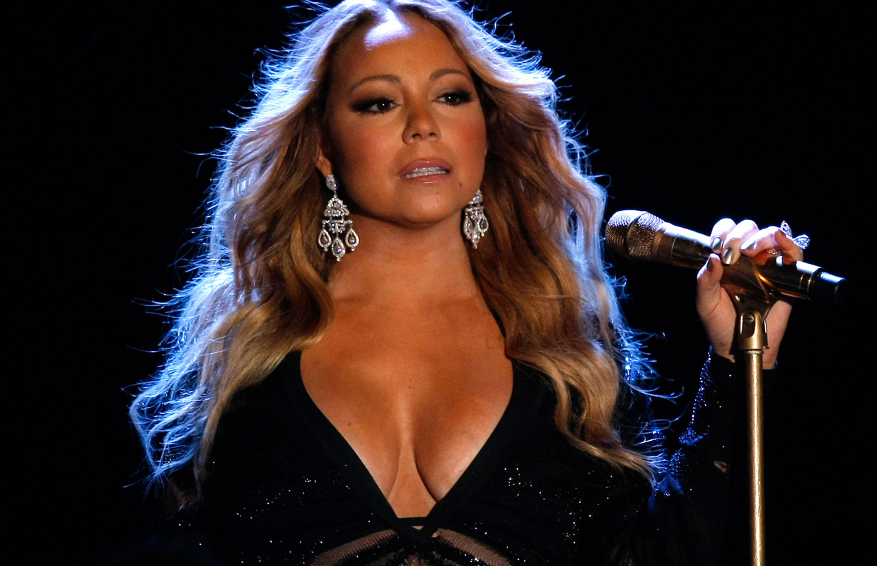 Mariah Carey late to World Music Awards.