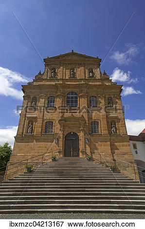 Picture of Baroque pilgrimage church Maria Hilf, Amberg, Upper.