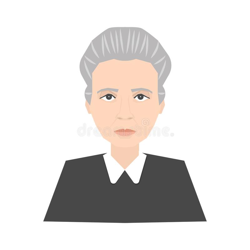 Marie Curie Stock Illustrations.