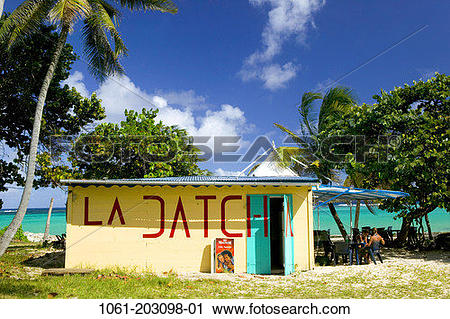 Stock Photography of FRENCH WEST INDIES (FWI).