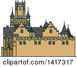 Clipart of a Castle.