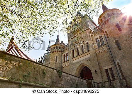 Picture of castle Marienburg, Niedersachsen, Germany.