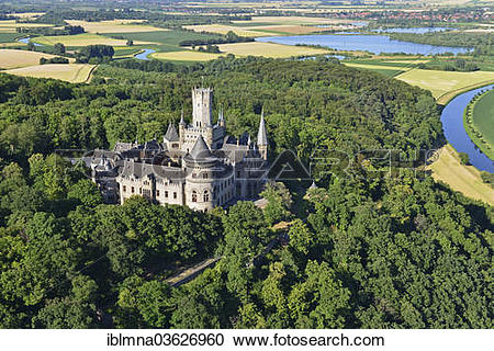 "Stock Photography of ""Marienberg with Schloss Marienburg Castle."