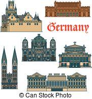 Marienburg Vector Clipart EPS Images. 4 Marienburg clip art vector.
