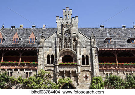 "Stock Photo of ""Marienburg Castle, Pattensen, Lower Saxony."