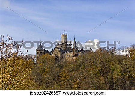 "Picture of ""Marienburg Castle, Pattensen near Hannover, Lower."