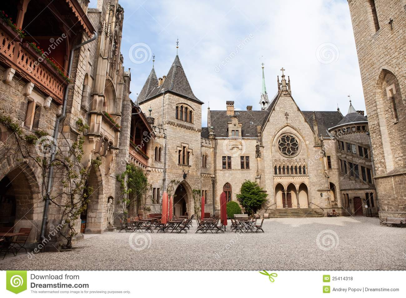 Marienburg Castle, Germany,,, Royalty Free Stock Photos.